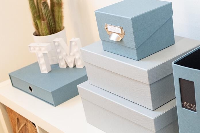Kartonáž (dárkové krabičky a archivační boxy)